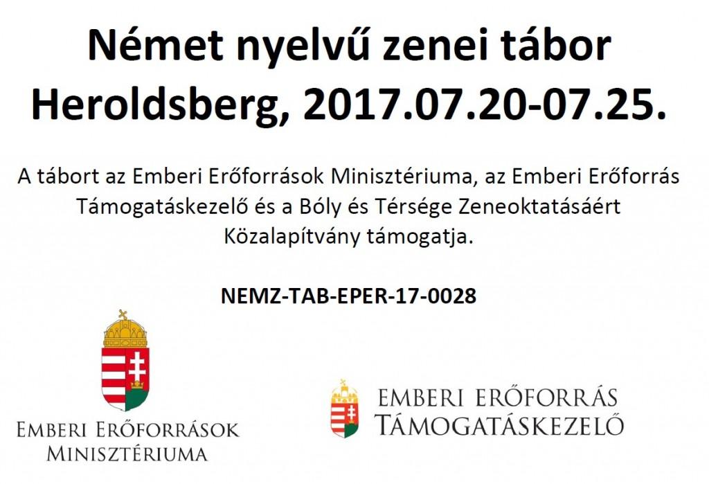 Német Nyelvű Zenei Tábor Heroldsberg